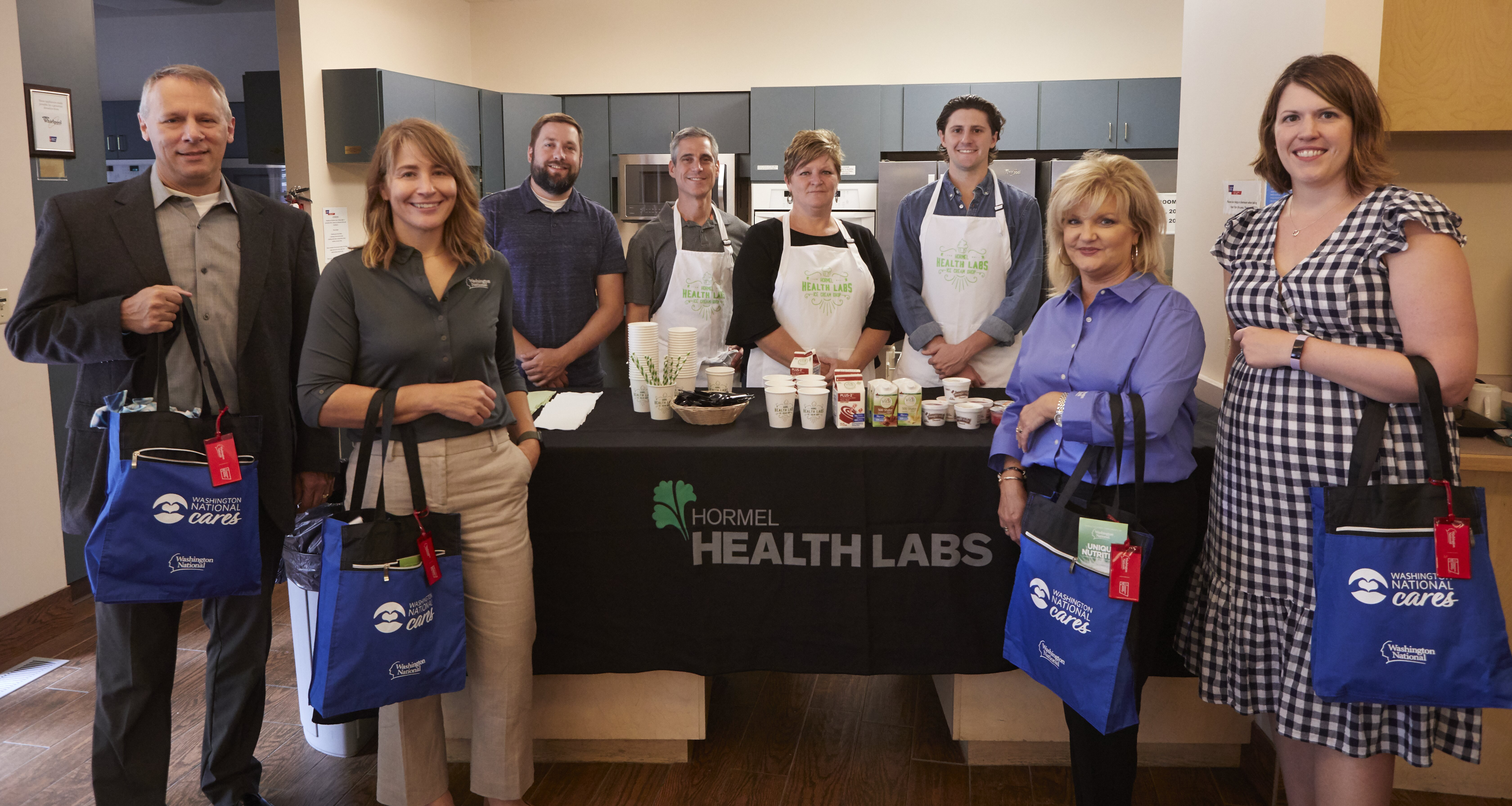 Hormel Health Labs Ice Cream shop at the American Cancer Society Hope Lodge