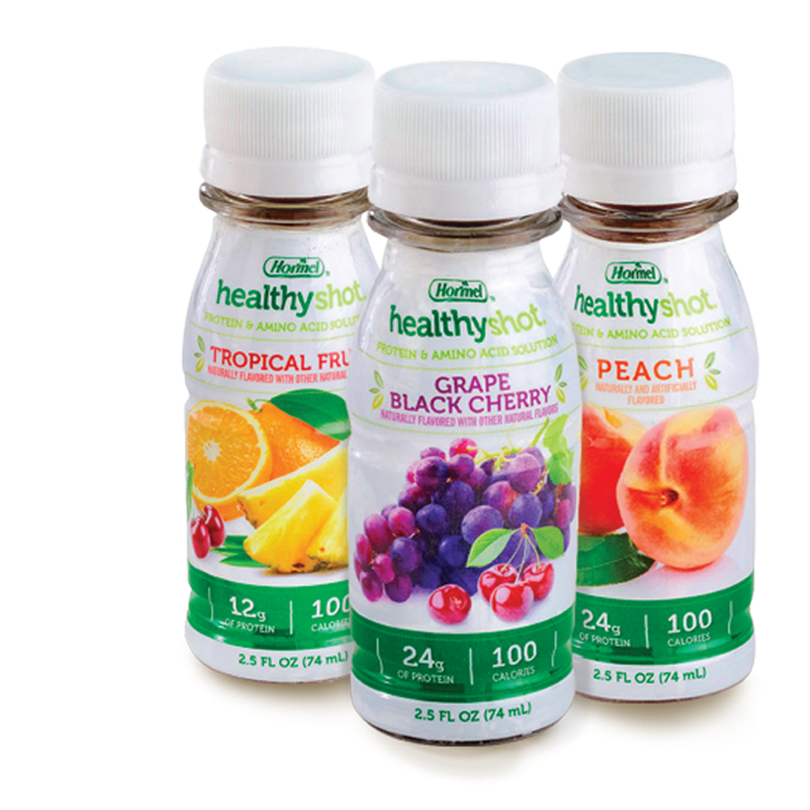 All flavors of Healthy Shot