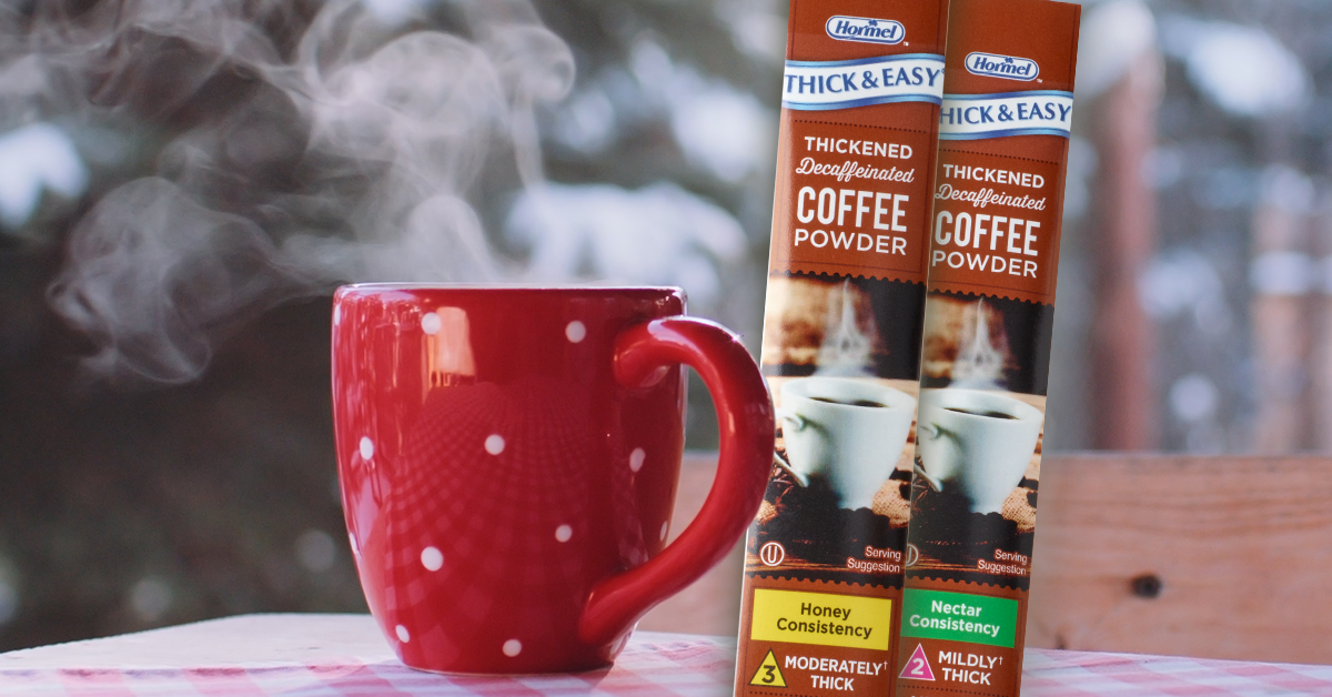 Thick and easy coffee sticks promo graphic