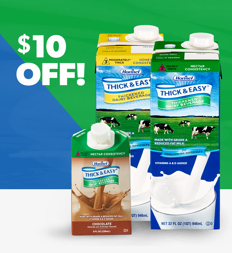 Thick & Easy Dairy deal promo graphic