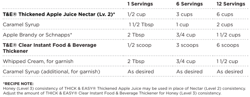 Thickened Caramel Apple Hot Toddy recipe