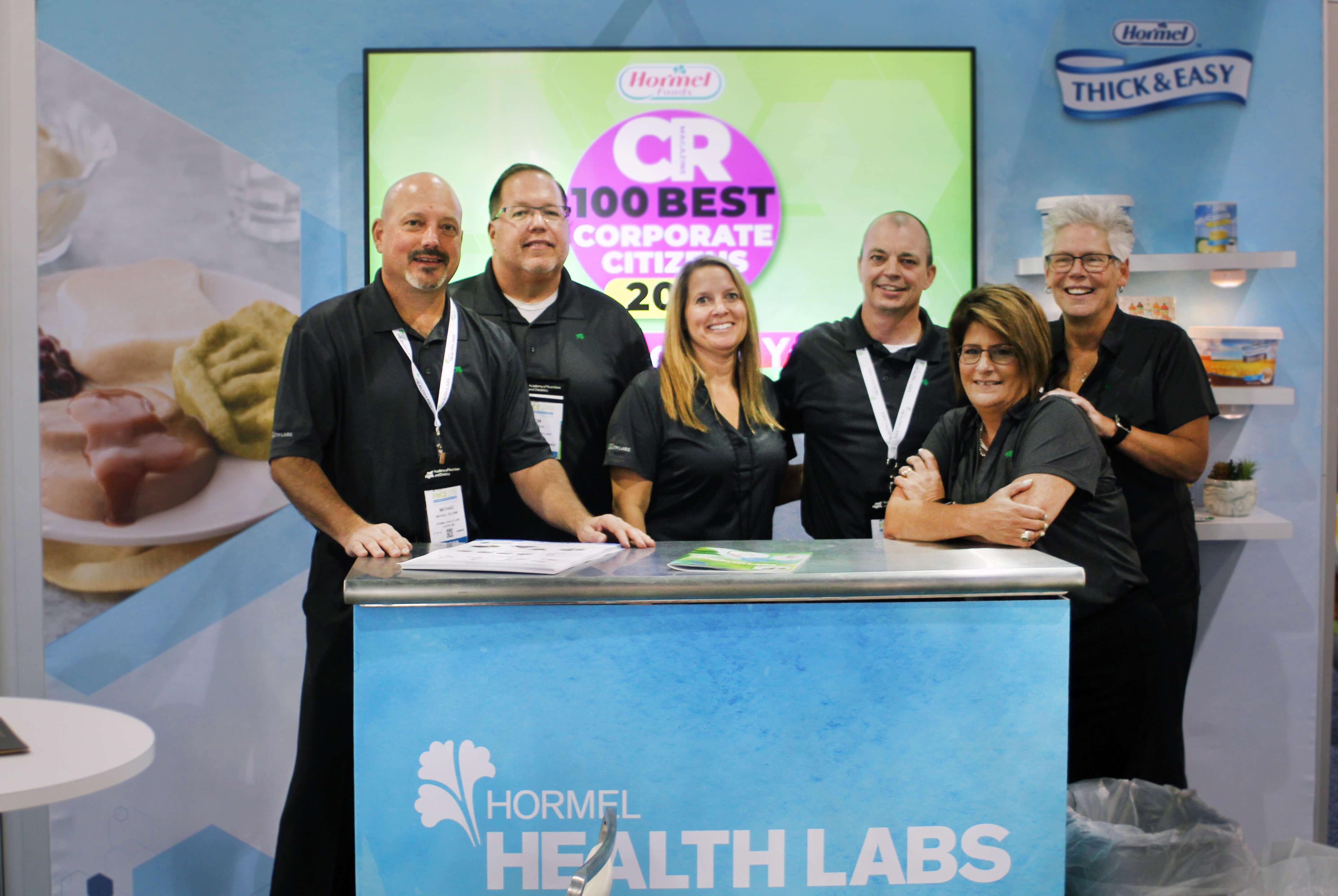 Hormel Health Labs team at FNCE