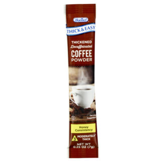 Thick & Easy® Coffee powder packet IDDSI level 3 variety