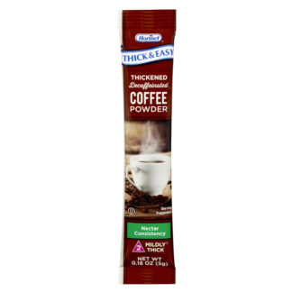 Thick & Easy® Coffee powder packet IDDSI level 2 variety