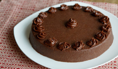 Chocolate cake for dypshagia diets