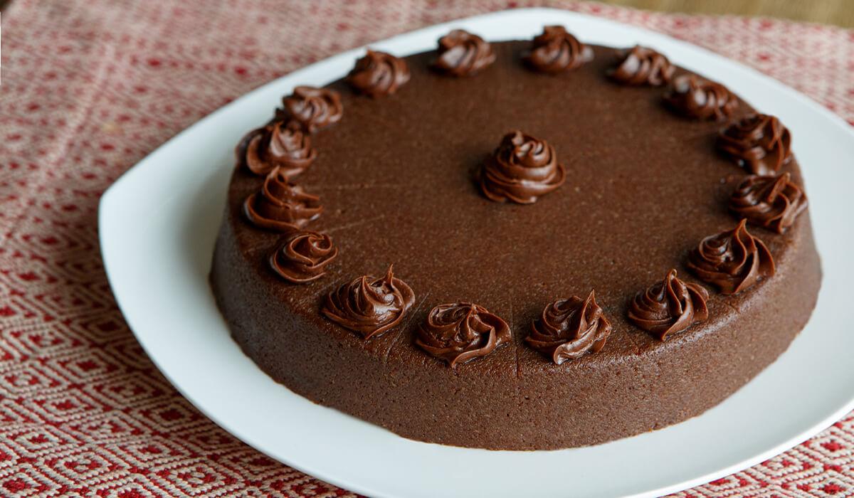 IDDSI Level 4 chocolate cake