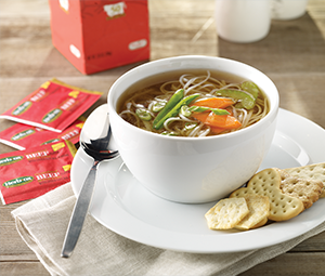 Herb-Ox Reduced Sodium broth noodle soup