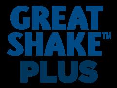 Great Shake™ Plus Logo