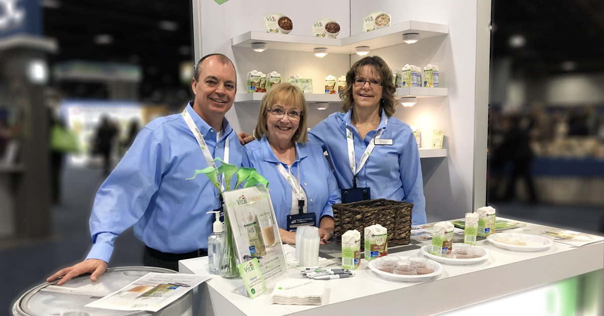 Hormel Health Labs employees at FNCE