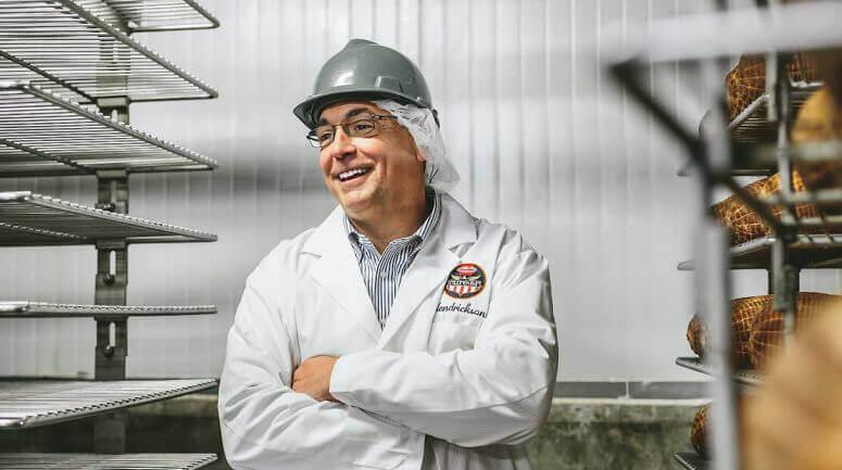 Hormel Foods employee at work