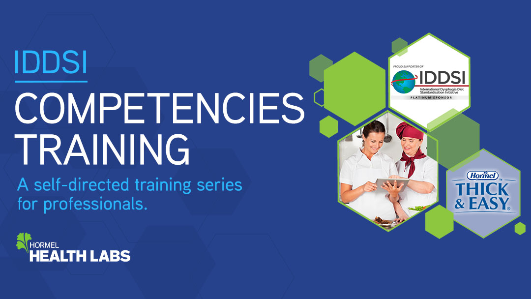 IDDSI Competencies Training