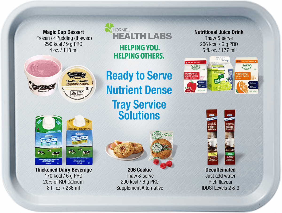 Hormel Health Labs is helping you help others with ready to serve nutrient dense products, resources and more