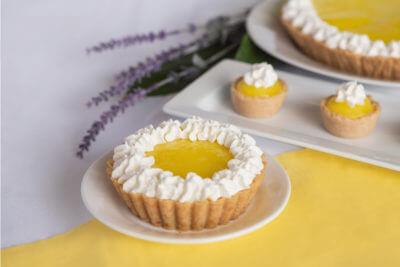 Lemon Cream Cheese pie dessert for dysphagia diets