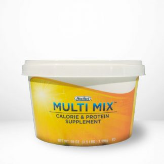 Hormel Health Labs Multi Mix™ container on table