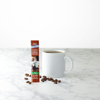 thick and easy nectar consistency decaffeinated coffee stick