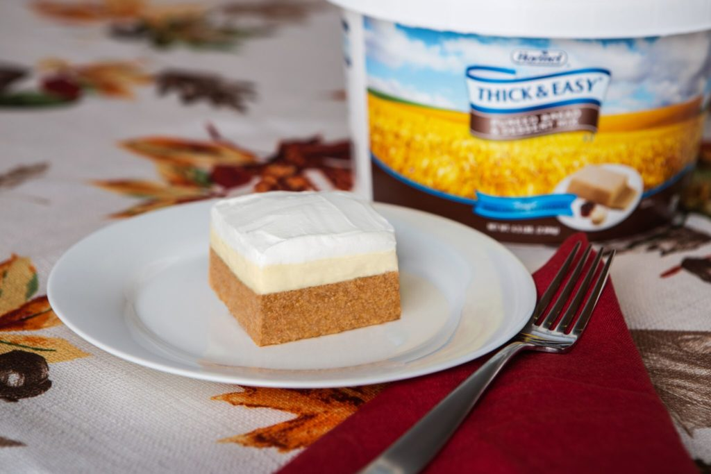 Thick & Easy® Pumpkin Square
