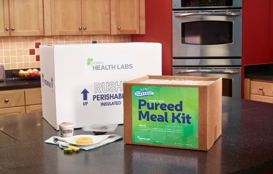 Pureed Meal Kit package