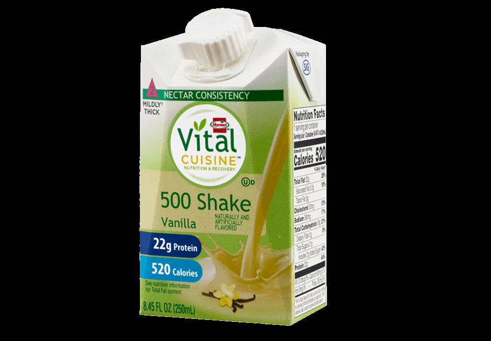 Vital Cuisine 500 Shake vanilla flavor