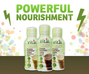 vital cuisine protein drink